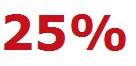Reduziert 25%