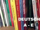 German Knitting Books A-E