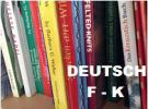 German Knitting Books F-K