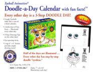 Eyeball Animation® Doodle-a-Day Calendar with fun facts! - Calendar 2006