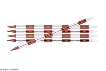 KnitPro Nadelspiel Nova Metall 15cm Strumpfstricknadeln
