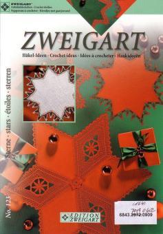 Zweigart Häkelidee - Stern No. 123  - 7019/602