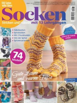 100 Seiten voller Ideen - Socken HUSH 27/2021