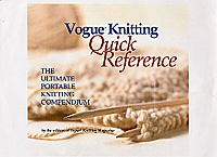Vogue Knitting QUICK REFERENCE