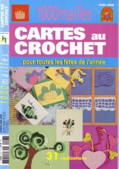1000 Mailles - Cartes au Crochet 2048-093