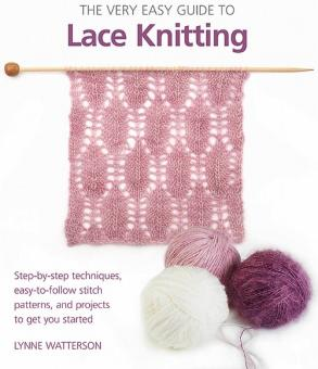THE VERY EASY GUIDE TO LACE KNITTING Unicorn 7532