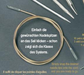 Addi Click Seile 659-7 120cm Seillänge
