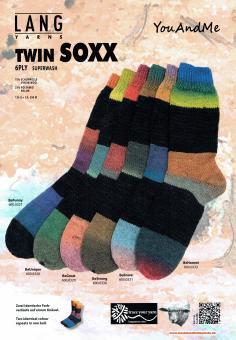 Lang Yarns Twin Soxx - 6fach