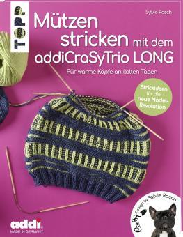 Mützen stricken mit dem addiCraSyTrio LONG TOPP 6836
