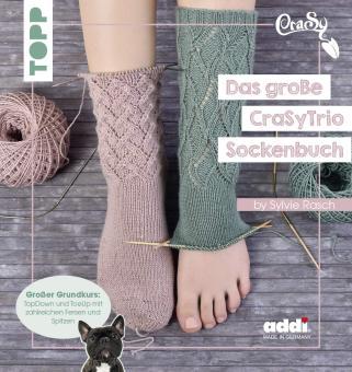 Das große CraSyTrio-Sockenbuch TOPP 8160