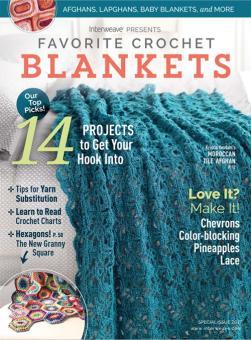 Interweave Favorite Crochet Blankets 2017