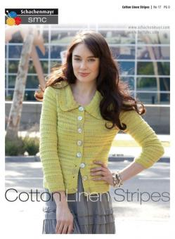 Design Poster Nr. 17 -  Cotton Linen Stripes