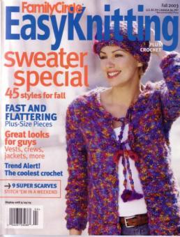 Family Circle Easy Knitting - Fall 2003