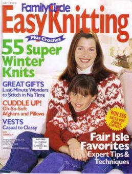Family Circle Easy Knitting - Winter 00/01