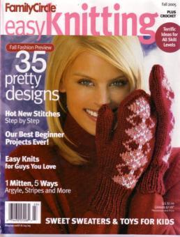Family Circle Easy Knitting - Fall 2005