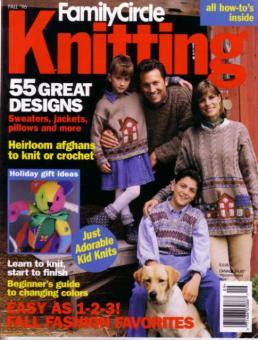Family Circle Easy Knitting - Fall 1996