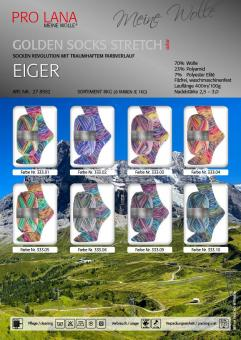 Pro Lana Golden Socks Stretch - Eiger