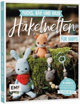Fuchs, Bär und Hase – süße Häkelwelten für Babys EMF 90556