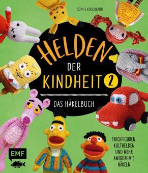 Helden der Kindheit – Das Häkelbuch – Band 2 EMF 90078