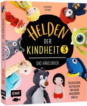 Helden der Kindheit - Das Häkelbuch - Band3 EMF 90635