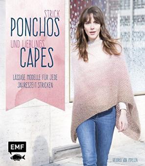 Strick-Ponchos und Lieblings-Capes EMF 55579