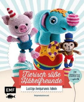 Tierisch süße Häkelfreunde im Zirkus EMF 29639