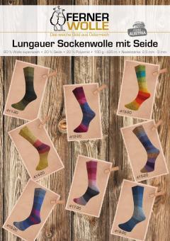 Ferner Lungauer Sockenwolle Seide 411-418