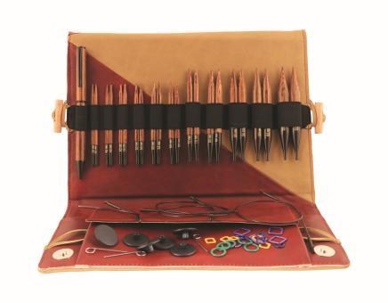 Knit Pro Ginger Rundstricknadel Set Deluxe kurz 31282