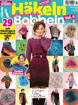 Simply Kreativ Häkeln mit Farbverlaufs-Bobbeln Vol. 4 / 2019