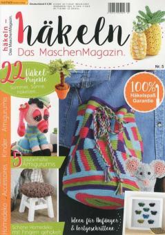 häkeln - Das Maschen Magazin 05/17