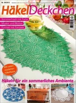 Häkel-Deckchen HD 34/13