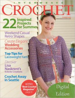 Interweave Knits Crochet Sommer 2009