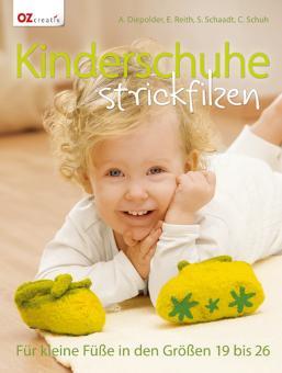 Kinderschuhe strickfilzen OZ6304
