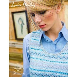 Louisa Harding Pattern Booklet Winter's Muse Portraits