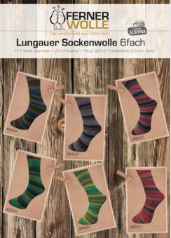 Ferner Lungauer Sockenwolle 6fach - 430-435