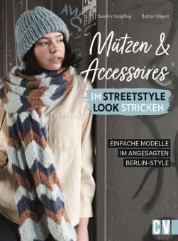 Mützen und Accessoires im Streetstyle Look stricken  CV 6664