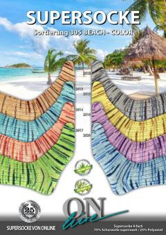ONline Supersocke 100 Sort 305 - Beach Color