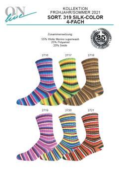 Online Supersocke 100 Sort 319 - Silk Color