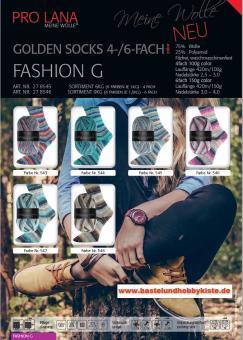 Pro Lana Golden Socks 6fach - Fashion G