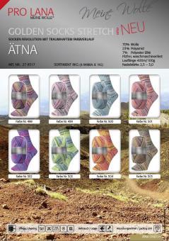 Pro Lana Golden Socks Stretch- Ätna  4fach