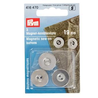 Prym Magnet-Annähknöpfe 19mm