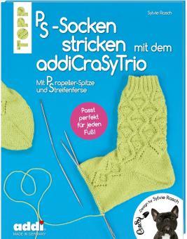 PS-Socken mit dem addiCraSyTrio stricken TOPP 6842