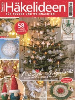 Sarah Sonderheft - Häkelideen für Advent und Weihnachten SH 106