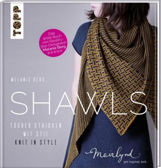 Shawls - Tücher stricken mit Stil - Knit in Style.TOPP 8140