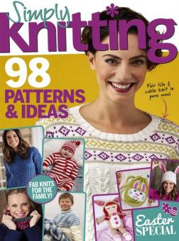 Simply Knitting Issue 170 - 2018
