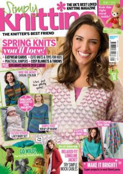 Simply Knitting Issue 171 - 2018