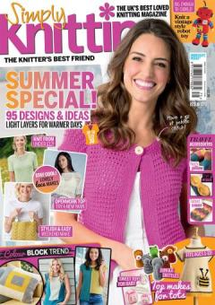 Simply Knitting Issue 175 - 2018