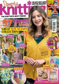 Simply Knitting Issue 177 - 2018
