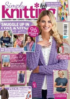 Simply Knitting Issue 180 - 2018