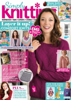 Simply Knitting Issue 182 - 2019